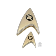 Star Trek: Discovery - Enterprise Science Badge & Pin Set | Merchandise