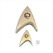 Star Trek: Discovery - Enterprise Operations Badge & Pin Set | Merchandise