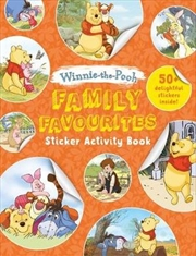 Winnie-the-Pooh Family Favourites Sticker Activity Book