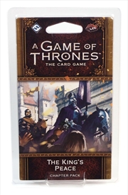 A Game of Thrones Card Game (2nd Edition): The King's Peace | Merchandise