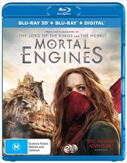 Mortal Engines | 3D + 2D Blu-ray + Digital Copy