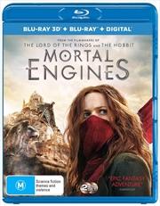 Mortal Engines | 3D + 2D Blu-ray + Digital Copy
