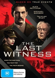 Last Witness, The | DVD