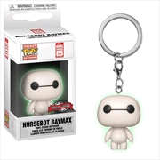 Big Hero 6 - Nursebot Baymax Glow US Exclusive Pocket Pop! Keychain [RS]