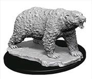 Wizkids - Deep Cuts Unpainted Polar Bear