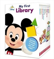 Disney Baby: My First Library | Hardback Book