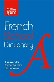Collins Gem French School Dictionary [4th Edition] | Paperback Book