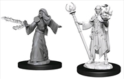 Dungeons & Dragons - Nolzur's Marvelous Unpainted Minis: Unpainted Male Elf Wizard
