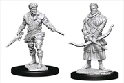 Dungeons & Dragons - Nolzur's Marvelous Unpainted Minis: Unpainted Male Human Rogue