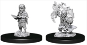 Pathfinder - Deep Cuts Unpainted Male Gnome Sorcerer