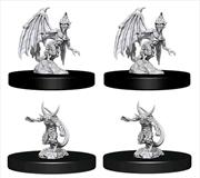 Dungeons & Dragons - Nolzur's Marvelous Unpainted Minis: Unpainted Quasit & Imp