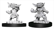 Pathfinder - Deep Cuts Unpainted Female Goblin Alchemist