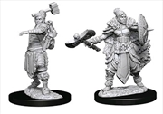 Dungeons & Dragons - Nolzur's Marvelous Unpainted Minis: Unpainted Female Half-Orc Barbarian