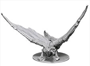 Dungeons & Dragons - Nolzur's Marvelous Unpainted Minis: Unpainted Young Brass Dragon
