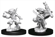 Pathfinder - Deep Cuts Unpainted Male Goblin Alchemist
