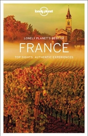 Lonely Planet - Best Of France 2nd Edition | Paperback Book