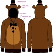 Five Nights Freddy Mens Fleece 2XL | Merchandise