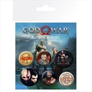 God Of War Mix Badge Pack