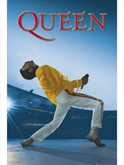 Queen Freddy Mercury Wembley Poster