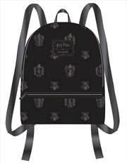 Harry Potter - Black Debossed Mini Backpack