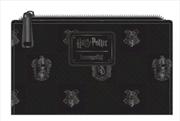 Harry Potter - Black Debossed Wallet