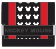 Mickey Mouse - Red Stripe Wallet