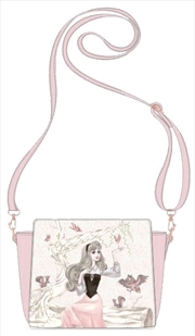 Sleeping Beauty - Aurora with Birds Handbag