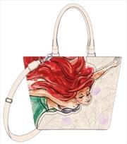 Little Mermaid - Ariel Sketch Print Tote Bag