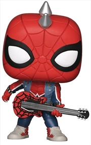 Spider-Man (Video Gamd 2018) - Spider-Punk US Exclusive Pop! Vinyl | Pop Vinyl