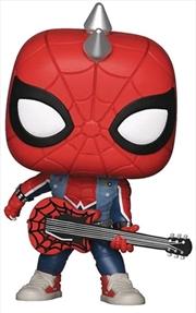 Spider-Man (Video Gamd 2018) - Spider-Punk US Exclusive Pop! Vinyl