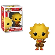 Simpsons - Lisa (Saxophone) Pop! Vinyl | Pop Vinyl