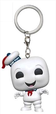 Ghostbusters - Stay Puft Pocket Pop! Keychain | Pop Vinyl