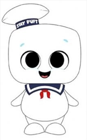 Ghostbusters - Stay Puft SuperCute Plush