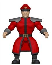 Street Fighter - M. Bison Savage World Action Figure