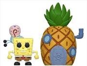 Spongebob - Spongebob with Pineapple Pop! Town