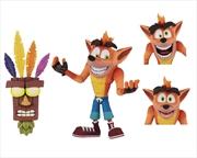 "Crash Bandicoot - Crash 7"" Ultra Deluxe Action Figure | Merchandise"