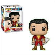 Shazam - Shazam Glow US Exclusive Pop! Vinyl [RS] | Pop Vinyl