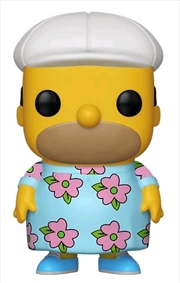 Simpsons - Homer in Muumuu US Exclusive Pop! Vinyl [RS] | Pop Vinyl
