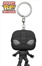 Spider-Man: Far From Home - Stealth Suit Pocket Pop! Keychain | Pop Vinyl