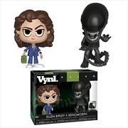 Alien - Xenomorph & Ripley 40th Anniversary Vynl.