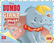 Disney: Dumbo Giant Activity Pad | Paperback Book
