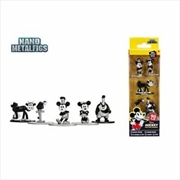 Disney - Nano Metalfigs Mickey Mouse 5-pack   Merchandise