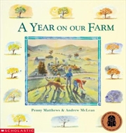 Year on our Farm | Paperback Book