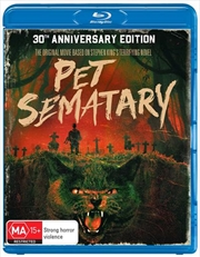 Pet Sematary - 30th Anniversary Edition | Blu-ray