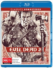 Evil Dead II - Dead By Dawn - Remastered | Blu-ray