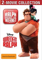 Wreck-it Ralph / Ralph Breaks The Internet - (SANITY EXCLUSIVE) - 2 Movie Collection | DVD