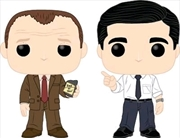 The Office - Toby vs Michael Pop! Vinyl 2-pack | Pop Vinyl