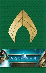 Aquaman Hardcover Ruled Journal | Hardback Book