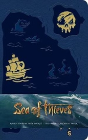 Sea Of Thieves Ruled Journal | Hardback Book