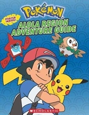 Pokemon: Alola Region Adventure Guide | Paperback Book